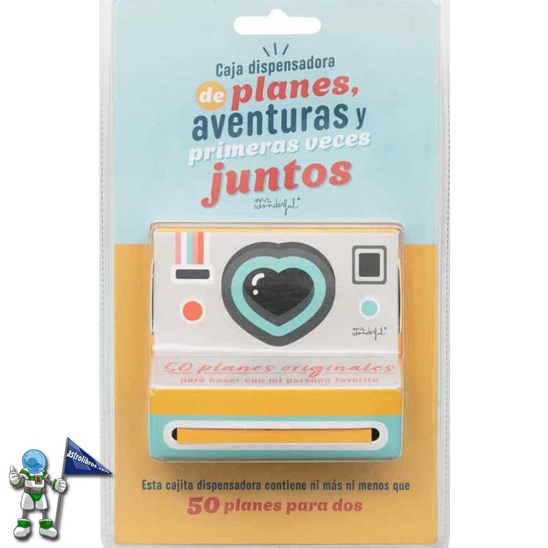 CAJA DISPENDADORA DE PLANES, AVENTURAS... MR WONDERFUL
