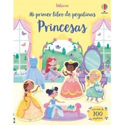 PRINCESAS, MI PRIMER LIBRO DE PEGATINAS USBORNE