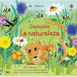 LA NATURALEZA   DESPLEGABLES