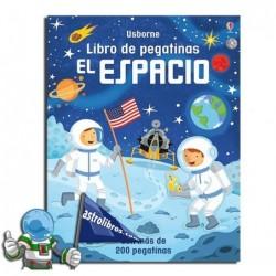 El espacio. Libro de pegatinas.