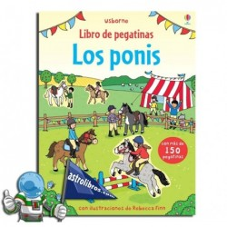 LOS PONIS | LIBRO DE PEGATINAS