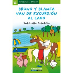 BRUNO Y BLANCA VAN DE EXCURSIÓN AL LAGO, LETRA MAYÚSCULA