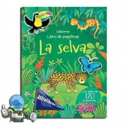 La selva. Libro de pegatinas.