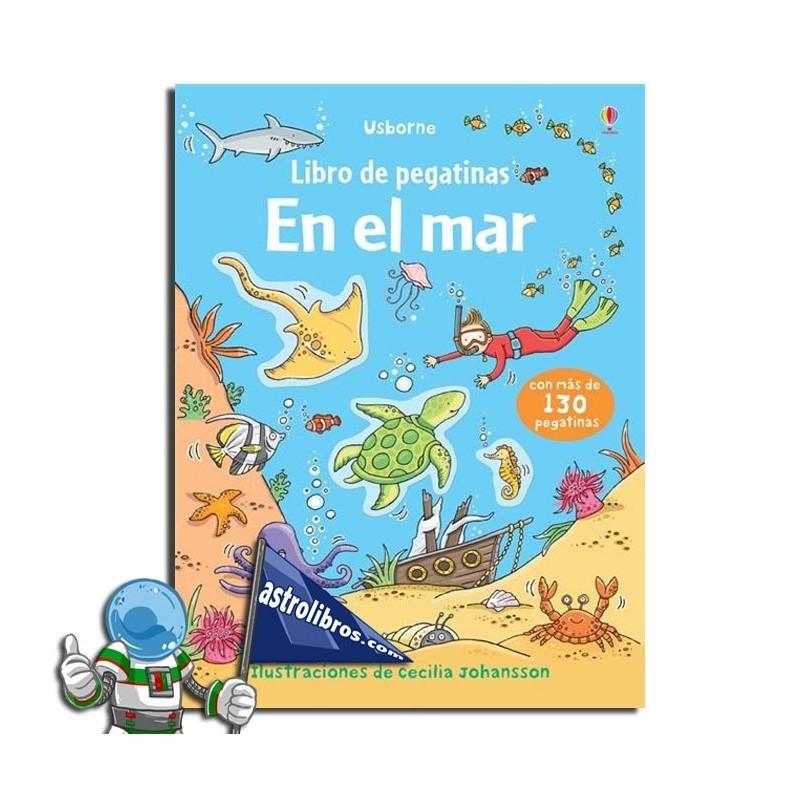 En el mar. Libro de pegatinas.