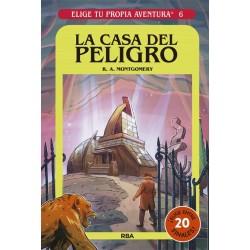 ELIGE TU PROPIA AVENTURA 6, LA CASA DEL PELIGRO