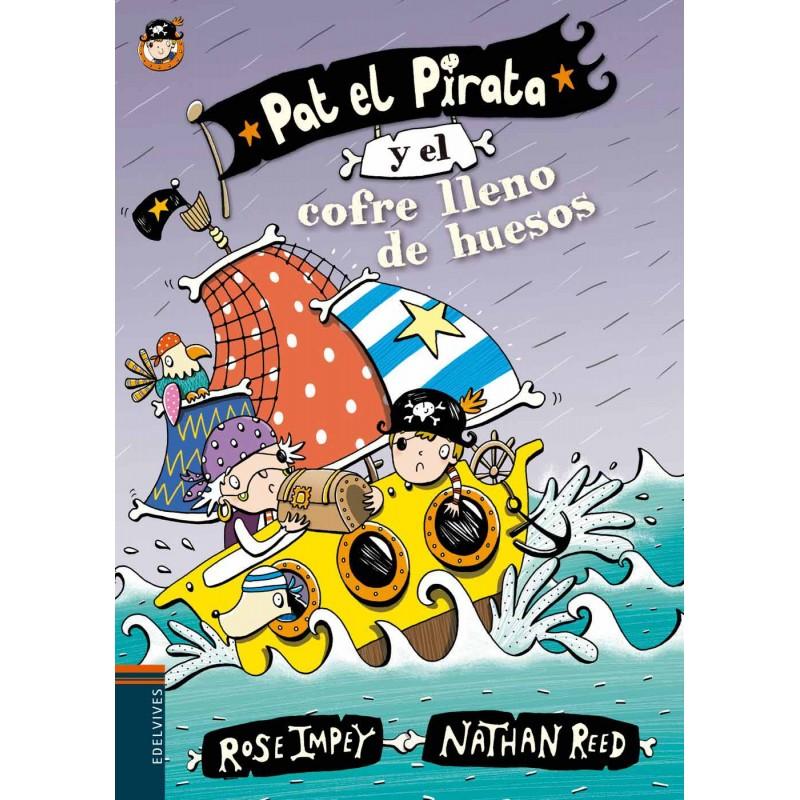 PAT EL PIRATA Y EL COFRE LLENO DE HUESOS | PAT EL PIRATA 4