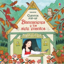BLANCANIEVES Y LOS SIETE ENANITOS, CUENTOS POP-UP USBORNE