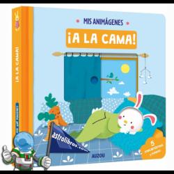 MIS ANIMÁGENES , A LA CAMA , LIBRO INTERACTIVO