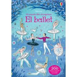 EL BALLET, MI PEQUEÑO LIBRO DE PEGATINAS USBORNE