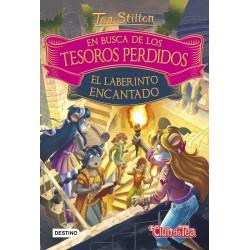 EN BUSCA DE LOS TESOROS PERDIDOS. EL LABERINTO ENCANTADO. TEA STILTON