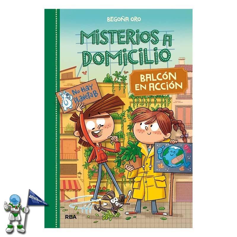 MISTERIOS A DOMICILIO 8, BALCÓN EN ACCIÓN