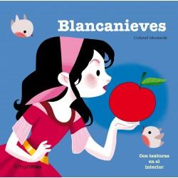 BLANCANIEVES , CUENTO CON TEXTURAS EN EL INTERIOR