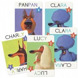 TOP DOGS, JUEGO DE CARTAS DJECO