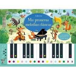 MIS PRIMERAS MELODÍAS CLÁSICAS , LIBRO PIANO