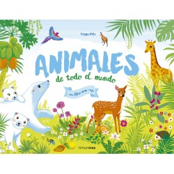 ANIMALES DE TODO EL MUNDO , LIBRO POP-UP