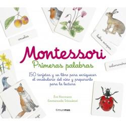 MONTESSORI , PRIMERAS PALABRAS