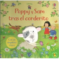 POPPY Y SAM TRAS EL CORDERITO, LIBRO CON TÍTERE