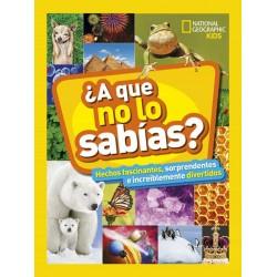 ¿A QUE NO LO SABIAS? , NATIONAL GEOGRAPHIC KIDS