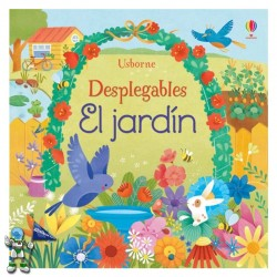 EL JARDÍN , DESPLEGABLES , LIBRO POP UP