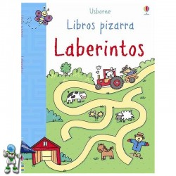EL PARQUE DE LOS LABERINTOS , LIBROS PIZARRA , USBORNE