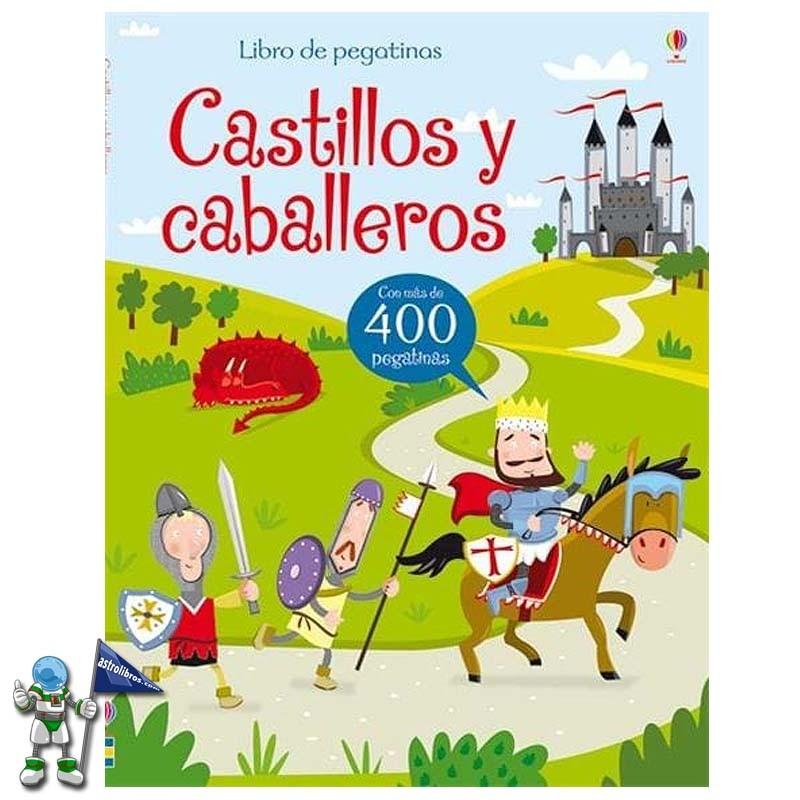 CASTILLOS Y CABALLEROS, LIBRO DE PEGATINAS USBORNE