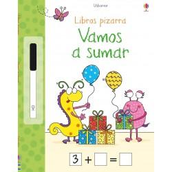 VAMOS A SUMAR , LIBROS PIZARRA USBORNE