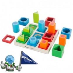 Juego educativo para clasificar formas en secuencia