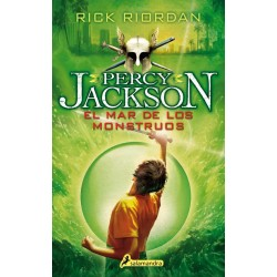 EL MAR DE LOS MONSTRUOS , PERCY JACKSON 2