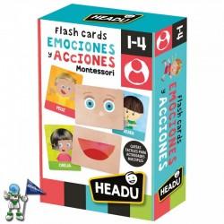 FLASH CARDS EMOCIONES Y ACCIONES , HEADU