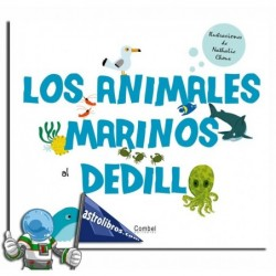 LOS ANIMALES MARINOS AL DEDILLO | LIBRO CON TEXTURAS