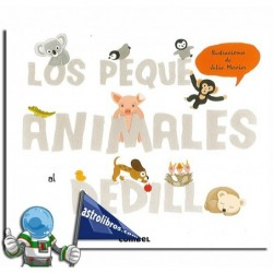 LOS PEQUE ANIMALES AL DEDILLO | LIBRO CON TEXTURAS.