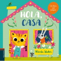 HOLA, CASA , LIBRO INFANTIL CON SOLAPAS