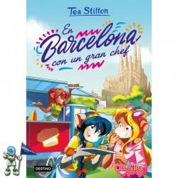 TEA STILTON 40, EN BARCELONA CON UN GRAN CHEF