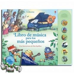 Libro de música para los más pequeños. Libro con sonidos.