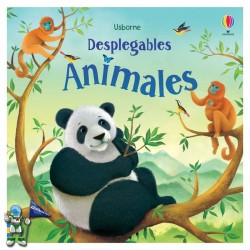 ANIMALES DESPLEGABLES, LIBROS POP-UP USBORNE