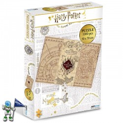 PUZZLE HARRY POTTER MAPA...