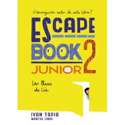 ESCAPE BOOK JUNIOR 2 , LAS LLAVES DE LÍA