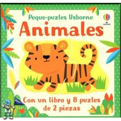 ANIMALES, PEQUE-PUZZLES USBORNE