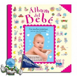 Álbum del bebé. Rosa.
