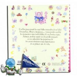 Álbum del bebé   Rosa