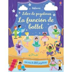 LA FUNCIÓN DE BALLET, LIBRO DE PEGATINAS USBORNE