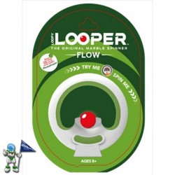 LOOPER FLOW, JUEGO SPINNER DE CANICAS