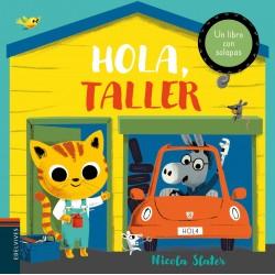 HOLA, TALLER , LIBRO INFANTIL CON SOLAPAS