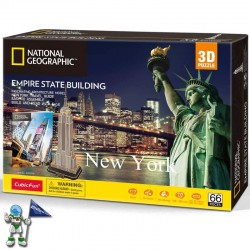 PUZZLE 3D NEW YORK, NATIONAL GEOGRAPHIC