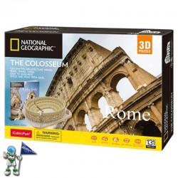 PUZZLE 3D, COLISEO DE ROMA, NATIONAL GEOGRAPHIC