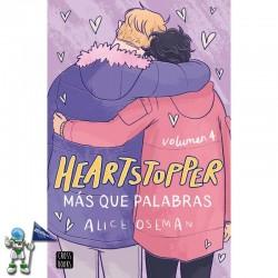 HEARTSTOPPER 4, MAS QUE PALABRAS