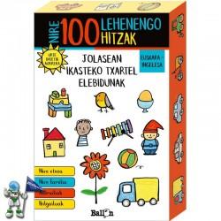 NIRE 100 LEHENENGO HITZAK, JOLASEAN ISKATEKO TXARTEL ELEBIDUNAK