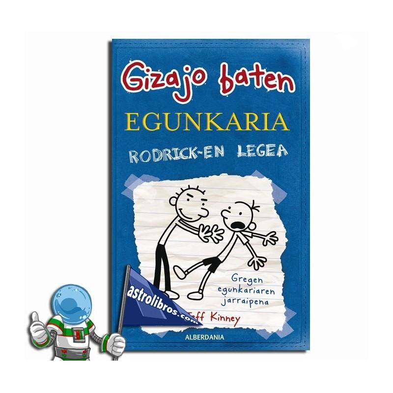 GIZAJO BATEN EGUNKARIA 2 , RODRICK-EN LEGEA , GREG EN EUSKERA