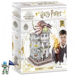 HARRY POTTER PUZZLE 3D EL BANCO GRINGOTTS