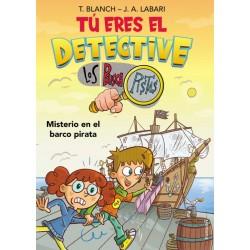 TÚ ERES EL DETECTIVE CON LOS BUSCAPISTAS 2, MISTERIO EN EL BARCO PIRATA